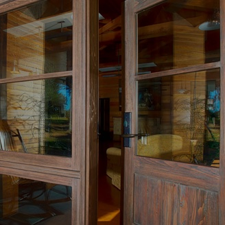 Have top quality wooden entry doors installed at your home by the experts at The Folding Door Store.