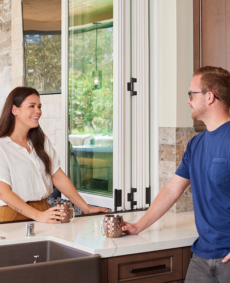 Find more enjoyment in your house by having The Folding Door Store install sliding patio doors to brighten things up.