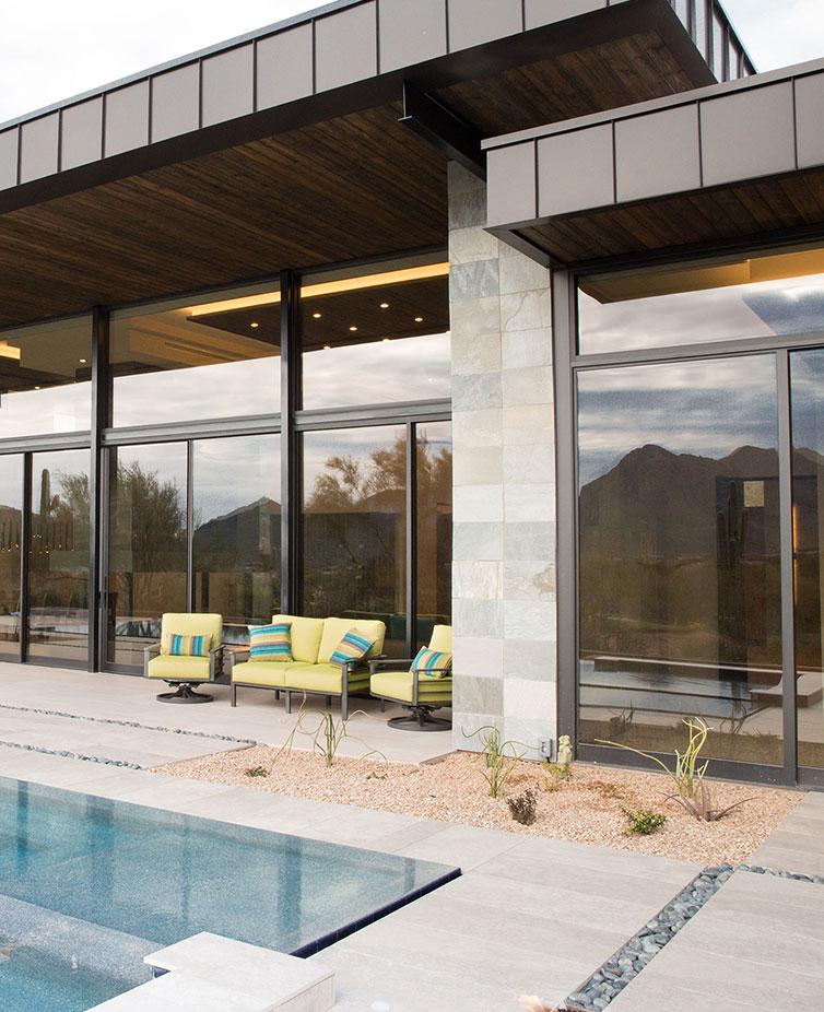 See how Western Windows installed by The Folding Door Store can really enhance the beauty of your home.