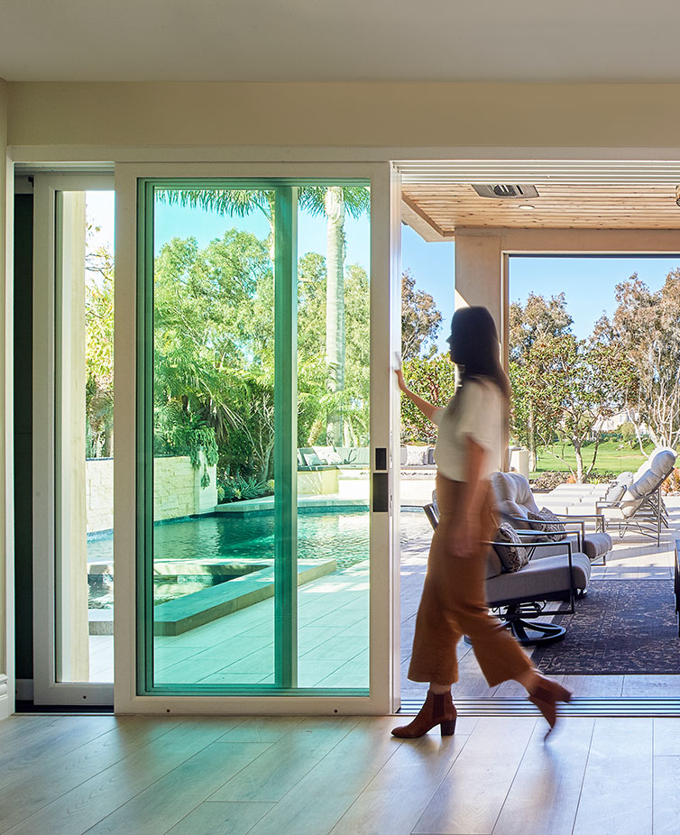 When you want to enhance the inside of your home by bringing outdoors inside contact the experts at The Folding Door Store.