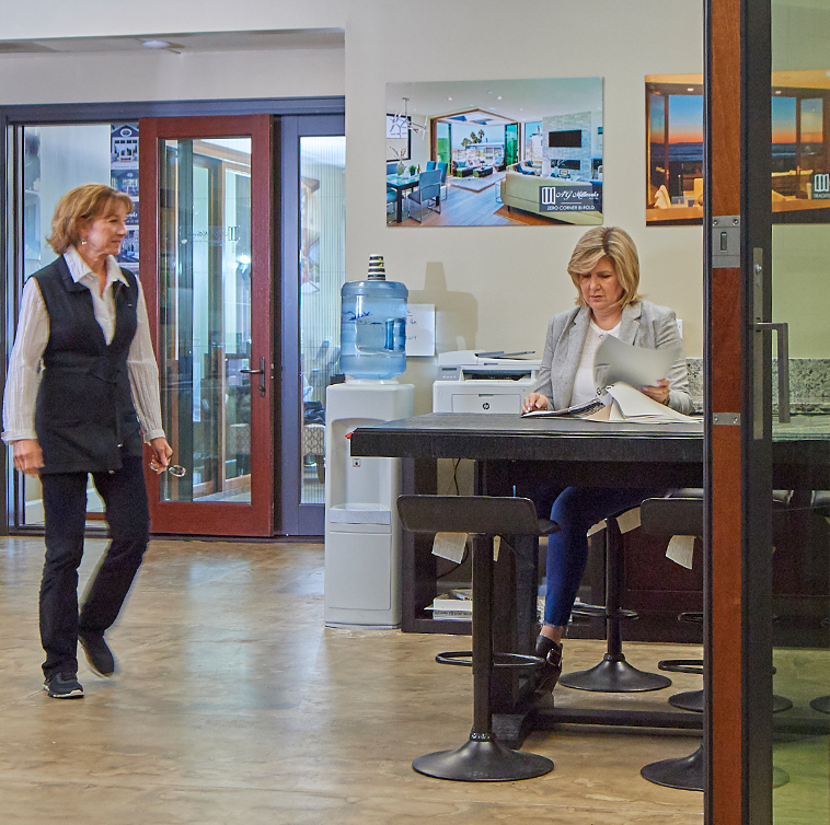 The Folding Door Store has showrooms where you can see our work such as our location in Irvine, CA.