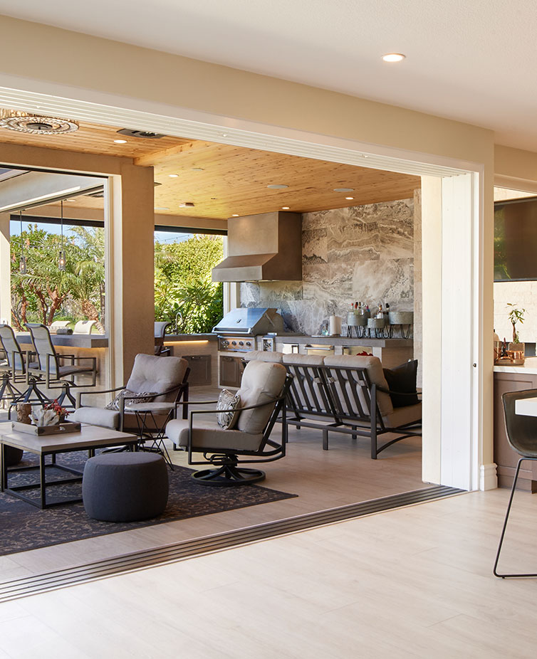 Your entire home can transform when you contact The Folding Door Store for screens, windows, folding and sliding glass doors.