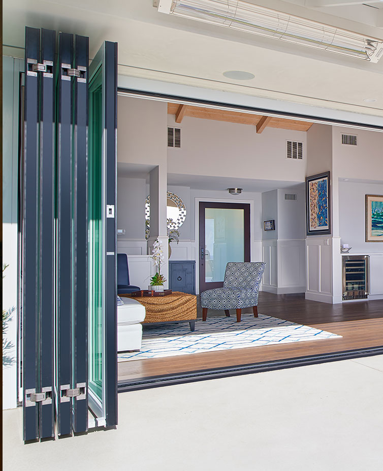 Bring light and fresh air into your home & enjoy the outdoors with sliding doors from The Folding Door Store.