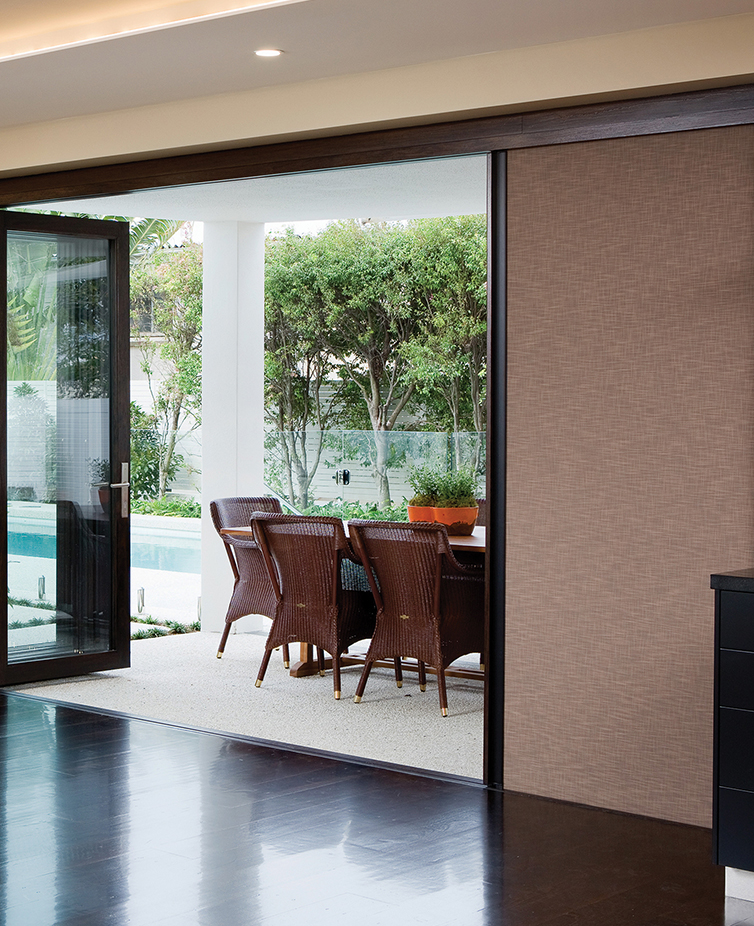 Centor folding doors installed by The Folding Door Store bring light and other enhancements to any home.