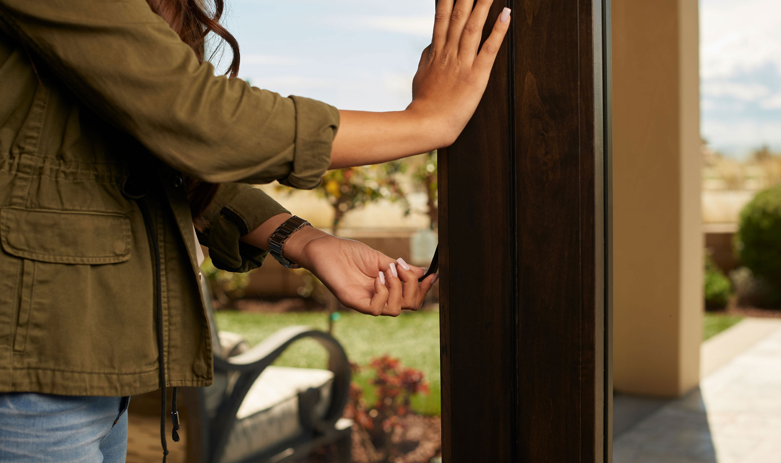 The Folding Door Store will install sliding glass patio doors which are easy to use and completely secure.